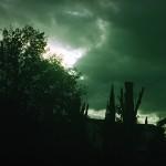 La tempesta si avvicinava - 2006 - cm 140x190 - photo printed on canvas - peter gazzola