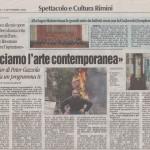 Peter Gazzola - Corriere Romagna - Domenica 14 Settembre 2008_HR