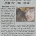 Peter Gazzola - Corriere Romagna - Sabato 19 Settembre 2009_HR