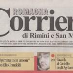 Peter Gazzola - Corriere Romagna - Sabato 19 Settembre 2009_testata_HR