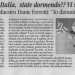 Peter Gazzola Dante Ferretti - La Voce di Romagna - Domenica 13 febbraio 2011_HR