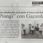 Peter Gazzola - La Voce di Romagna - Giovedi 14 Aprile 2011_HR