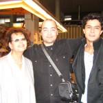 Peter Gazzola con Claudia Cardinale e Ismail Hacioglu