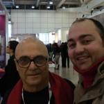 Peter Gazzola con Giancarlo Politi