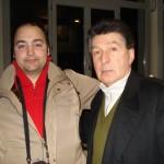 Peter Gazzola con Gianmarco Montesano