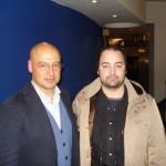 Peter Gazzola con Marco Goldin