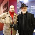 Peter Gazzola con Michelangelo Pistoletto