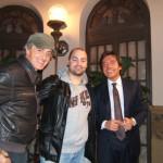 Peter Gazzola con Peppino Saponara e Carlo Vanoni
