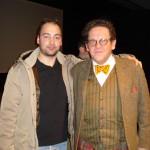 Peter Gazzola con Philippe Daverio