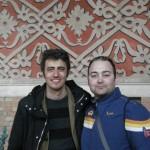 Peter Gazzola con Pif