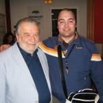 Peter Gazzola con Pupi Avati