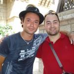 Peter Gazzola con Sacha Jafri