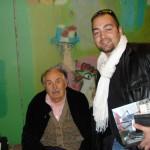 Peter Gazzola con Tonino Guerra