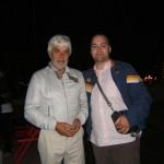 Peter Gazzola con Valerio Massimo Manfredi