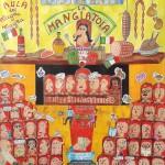 Italian Parliament - 2013 - cm 195 x 187 - oil on canvas - Peter Gazzola & Gian Paolo Gazzola
